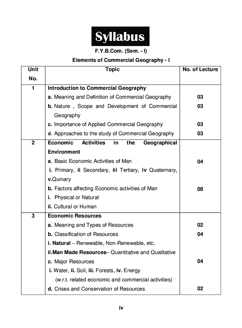 Elements Of Commercial Geography - I - Page 5