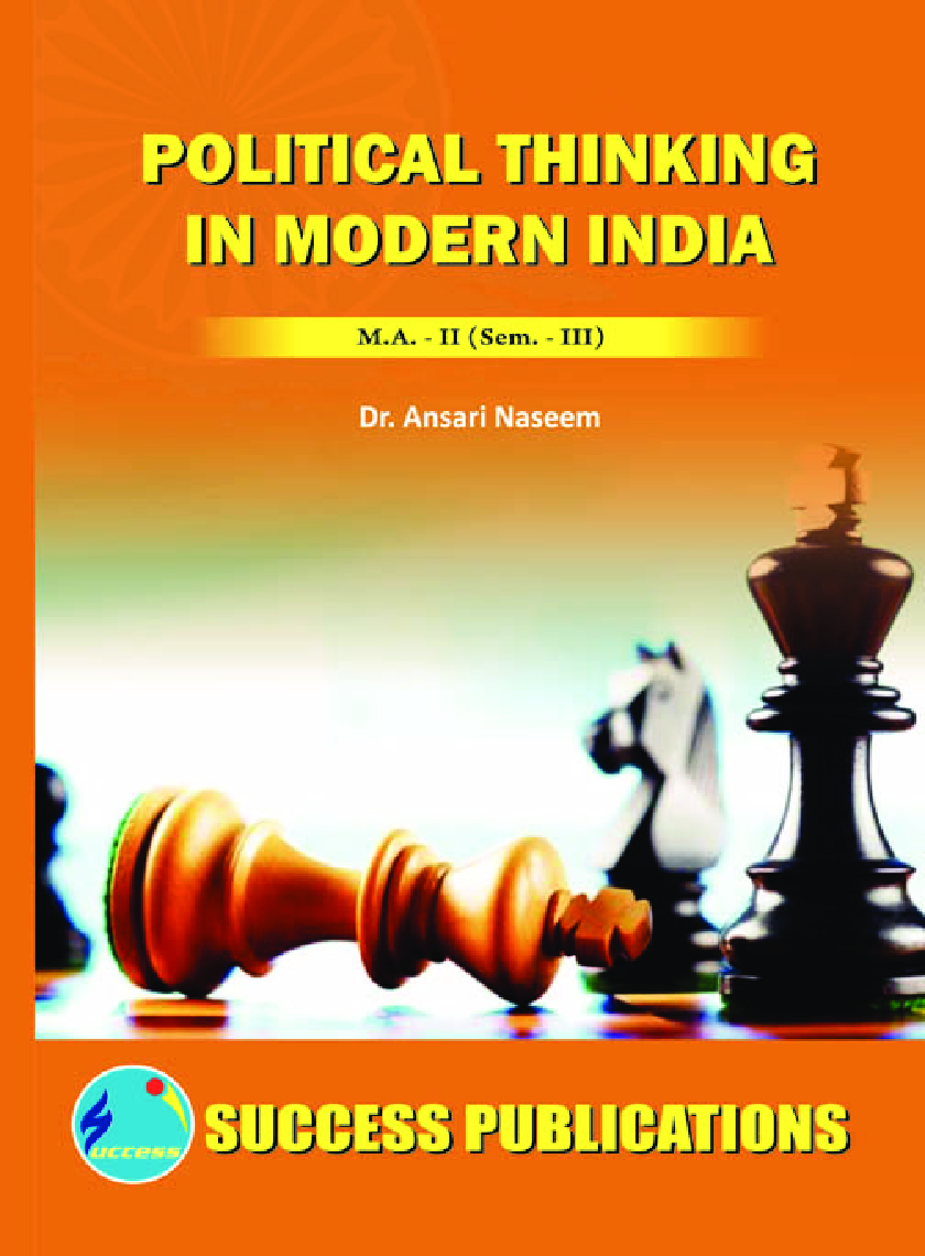 Political Thinking In Modern India - Page 1