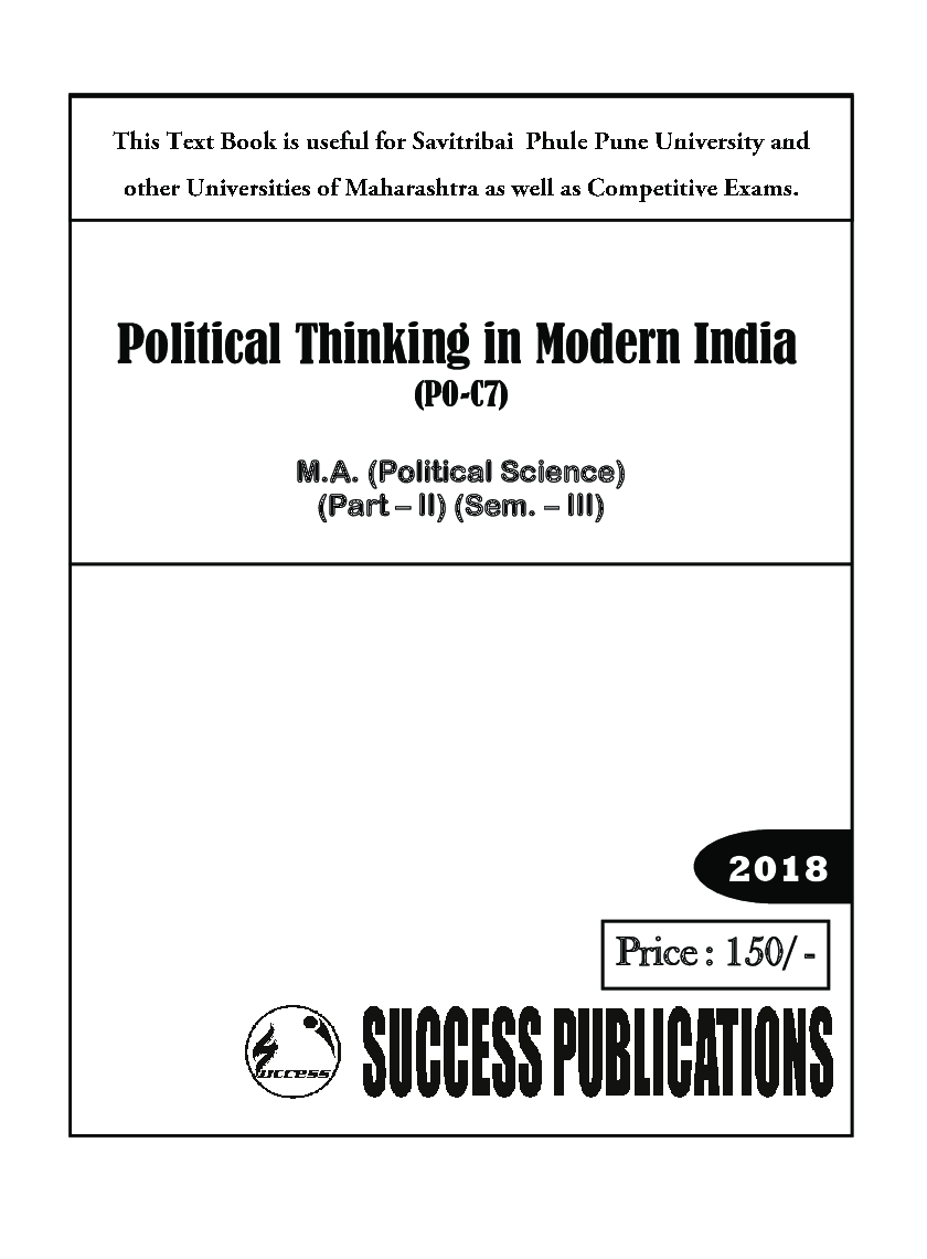 Political Thinking In Modern India - Page 2
