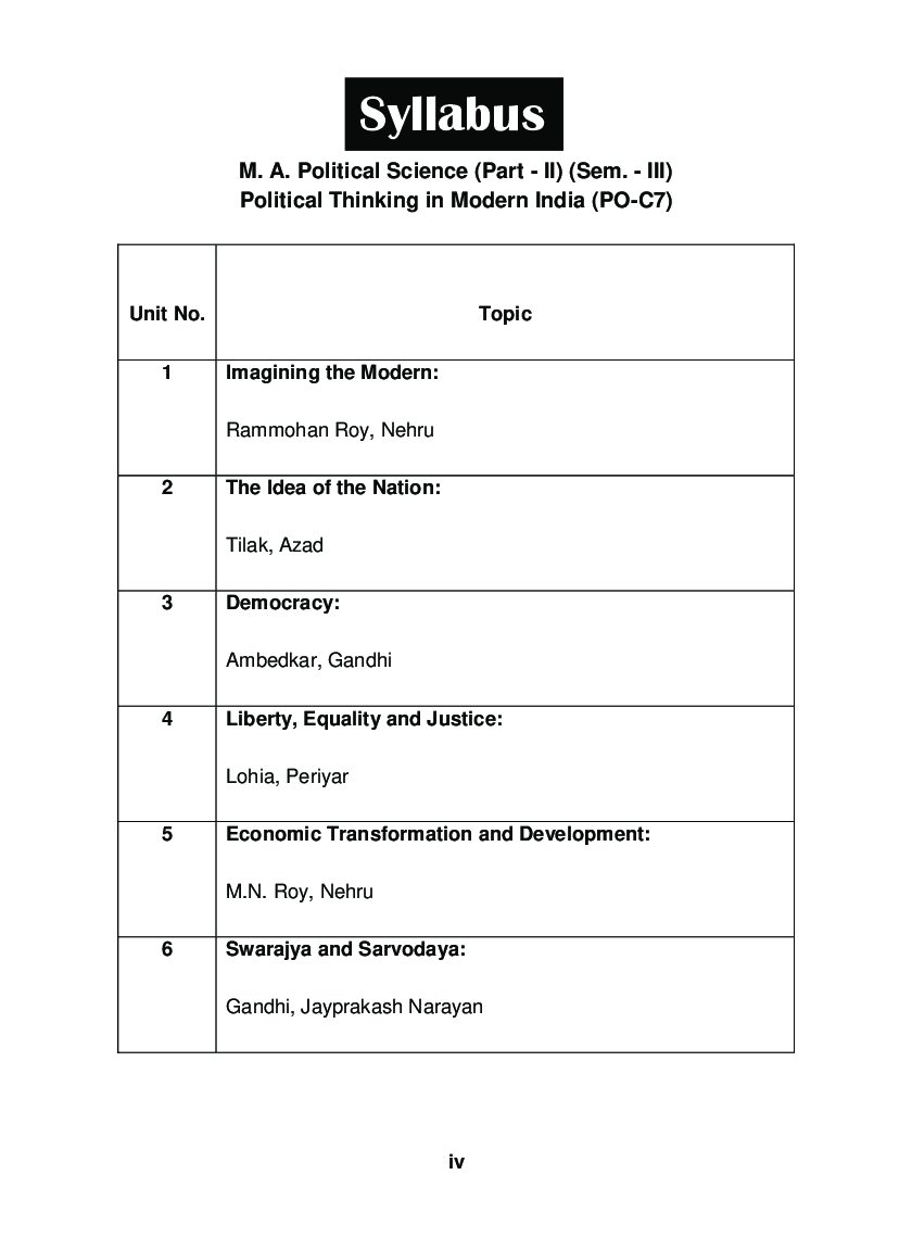 Political Thinking In Modern India - Page 5