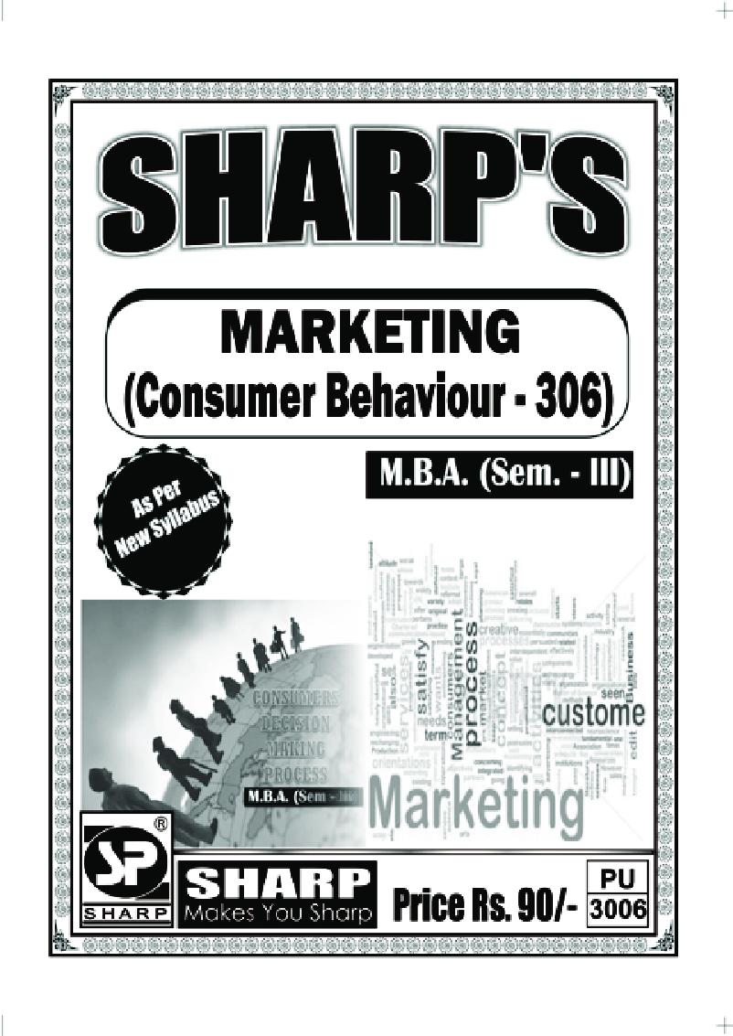 Marketing Consumer Behaviour - Page 1