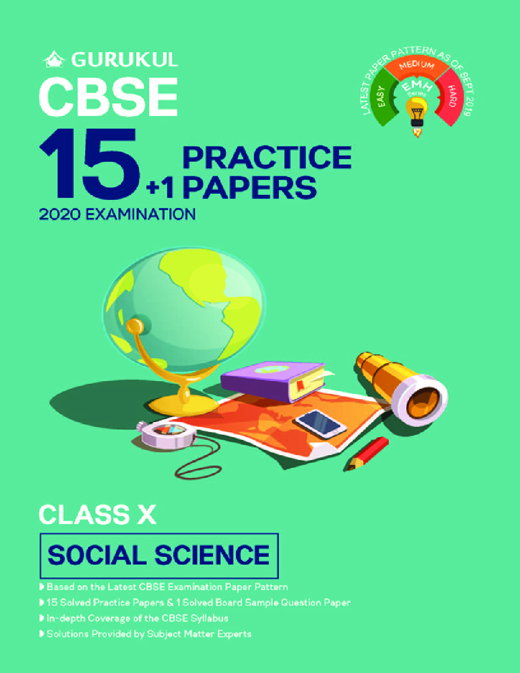 Oswal CBSE 15 + 1 Practice Papers - Social Science For Class X (For 2020 Exams) - Page 1