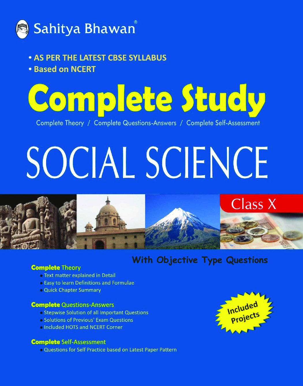 CBSE Complete Study Social Science For Class - X - Page 1