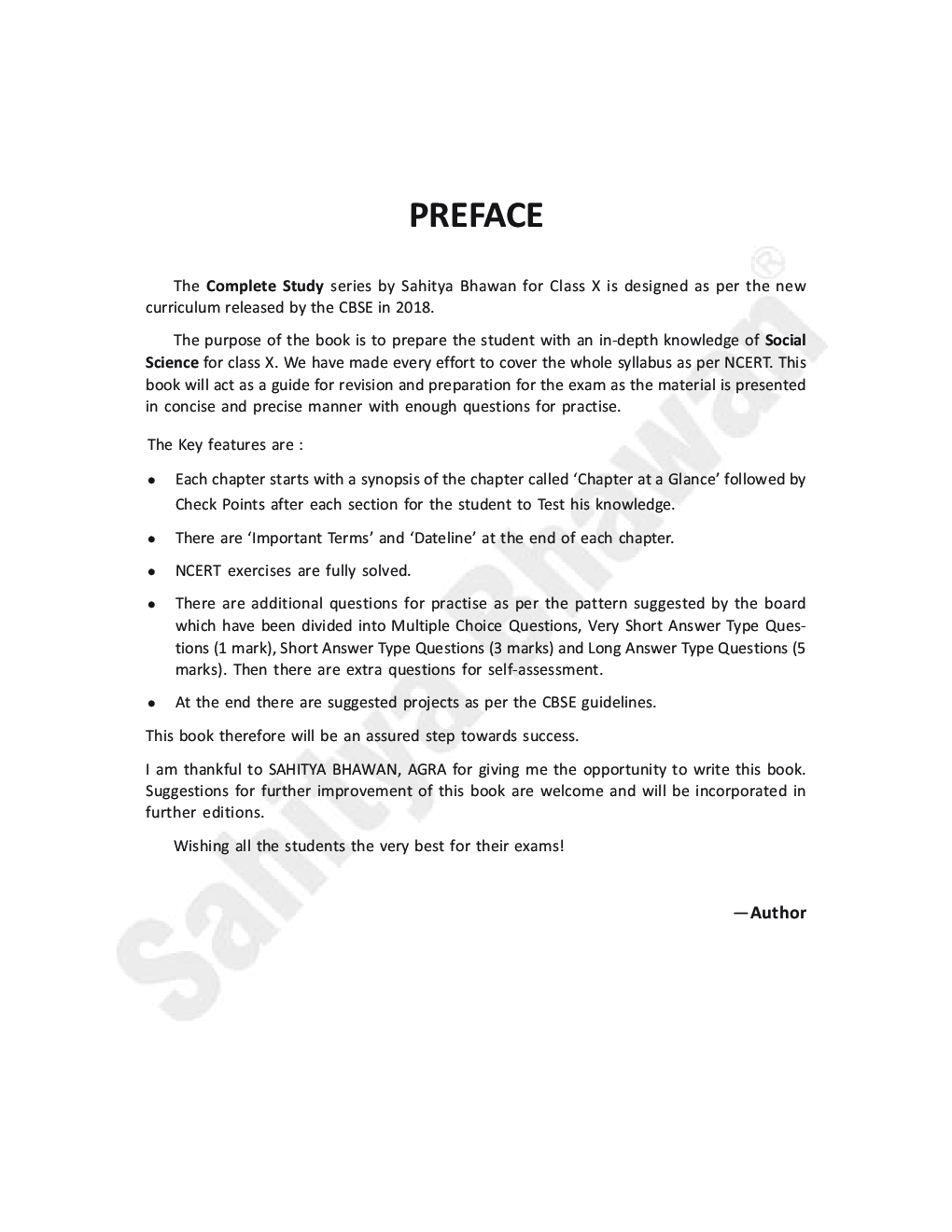 CBSE Complete Study Social Science For Class - X - Page 4
