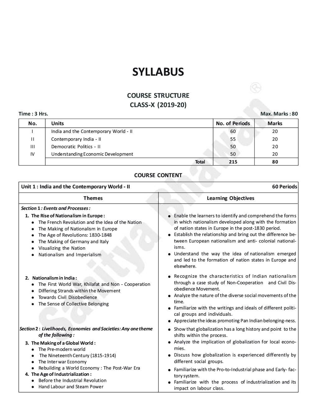 CBSE Complete Study Social Science For Class - X - Page 5