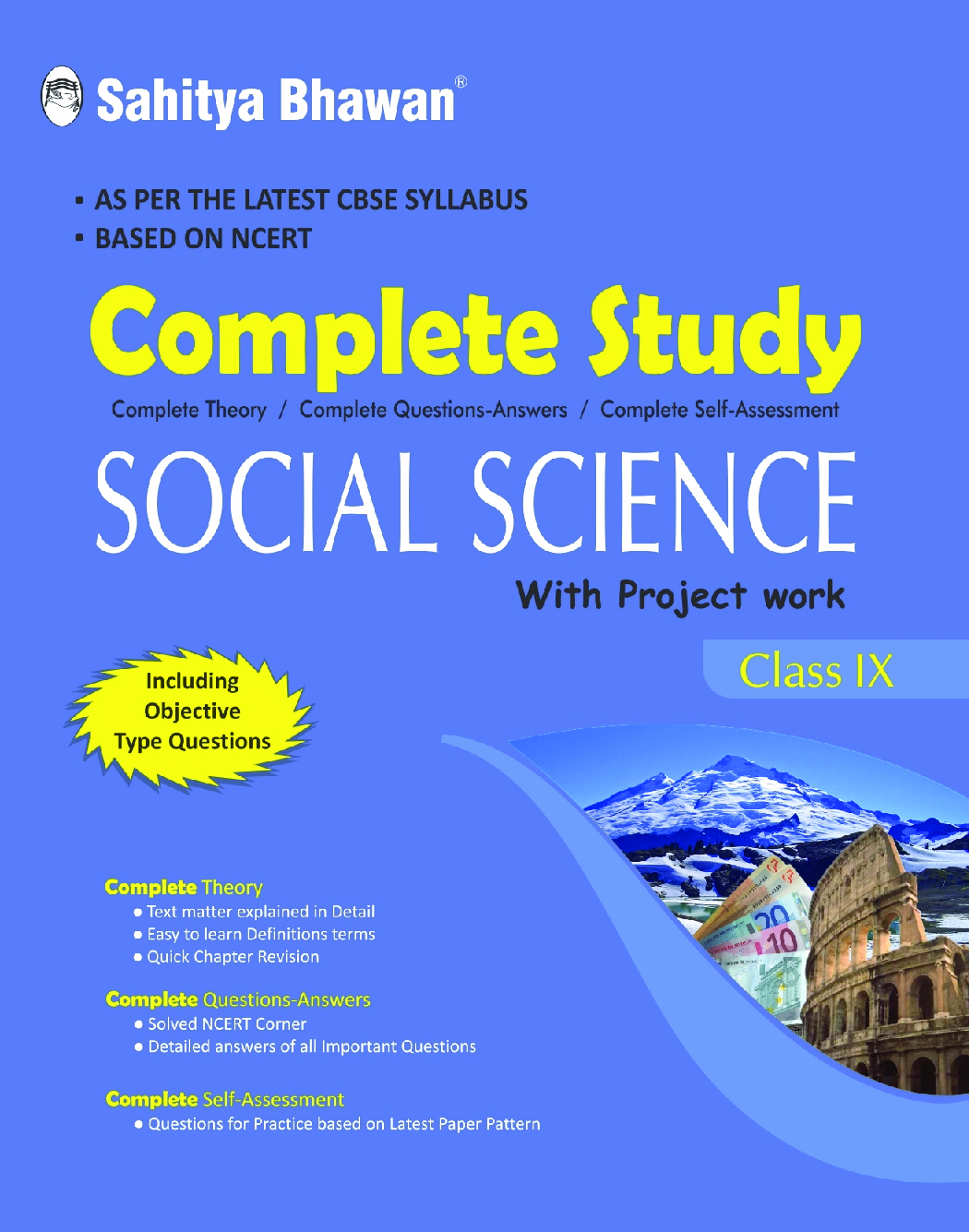 CBSE Complete Study Social Science For Class - IX - Page 1
