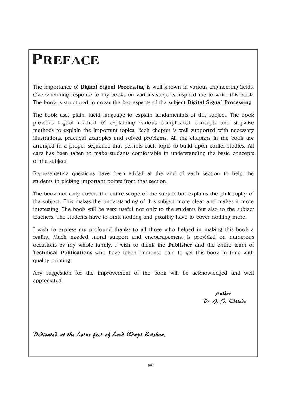 Digital Signal Processing For VTU - Page 4
