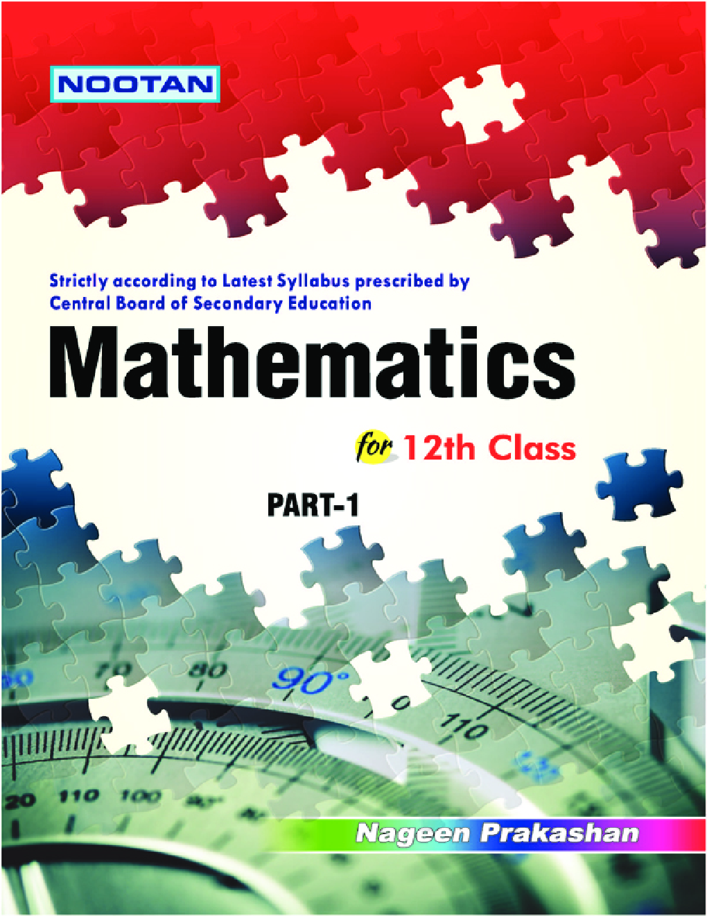 CBSE Mathematics Part-I For Class - XII - Page 1