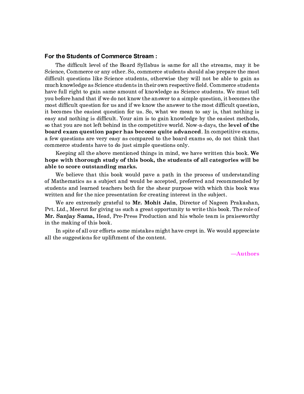 CBSE Mathematics Part-I For Class - XII - Page 5