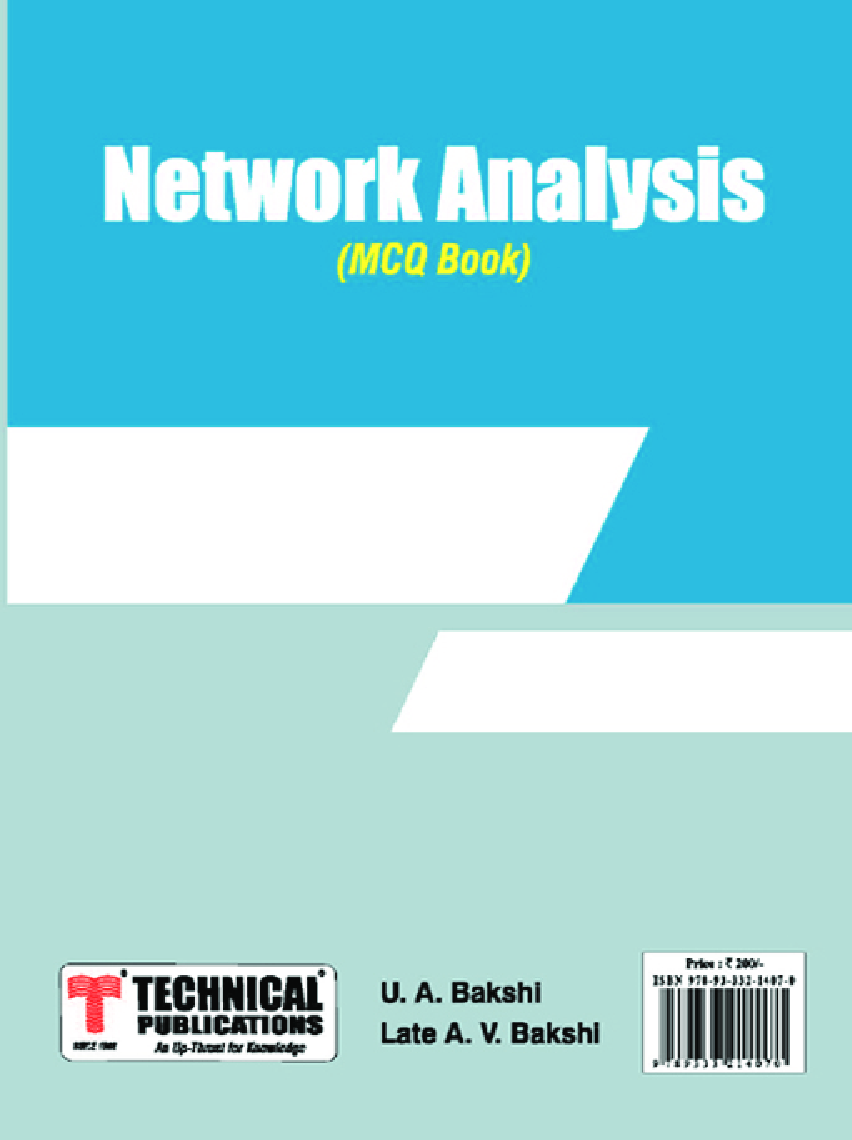 Network Analysis MCQ BOOK - Page 1