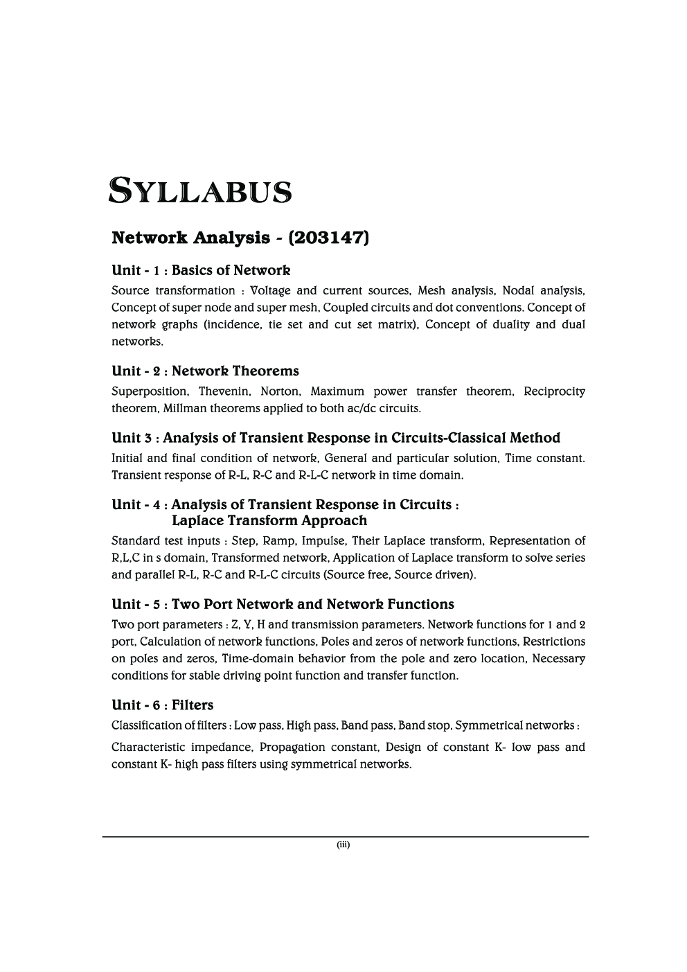 Network Analysis MCQ BOOK - Page 4