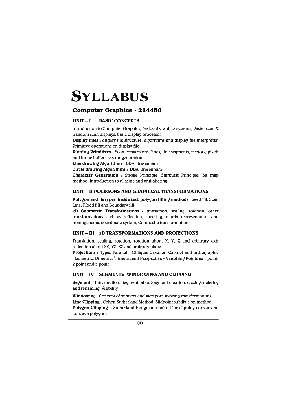 Computer Graphics (IT) MCQ BOOK - Page 4