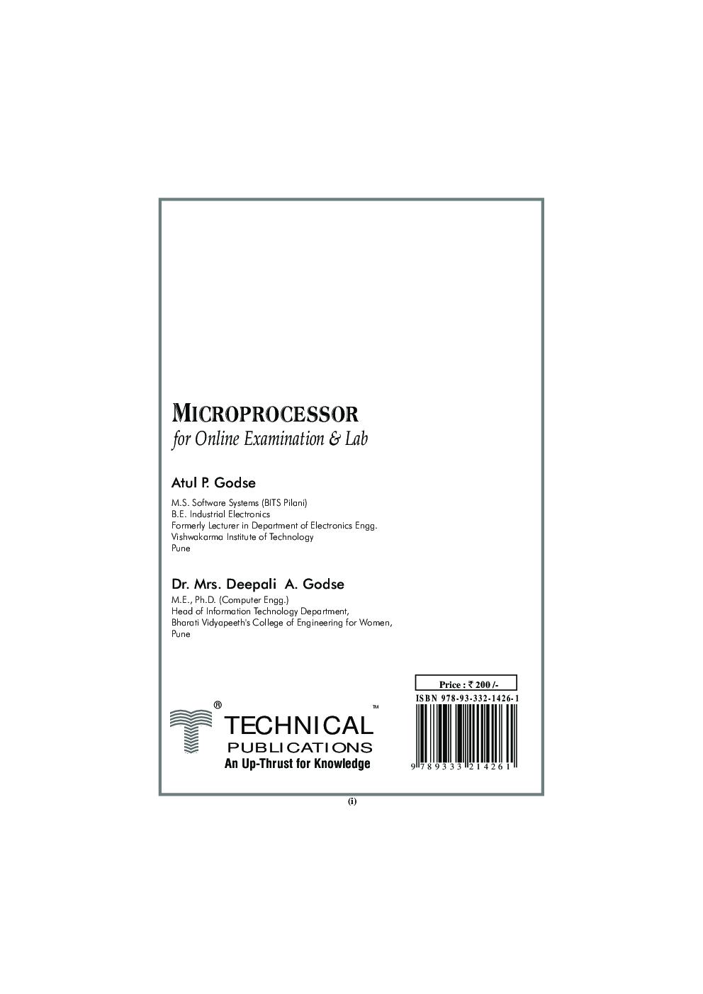 Microprocessor MCQ BOOK - Page 2