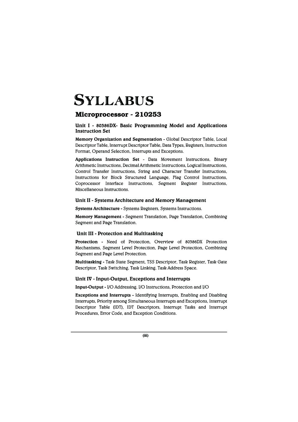 Microprocessor MCQ BOOK - Page 4