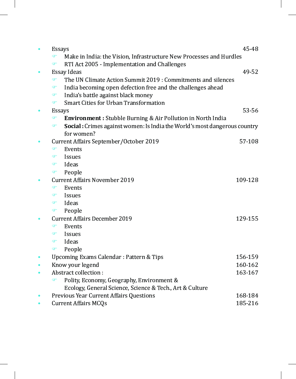 Weekly Current Affairs PDF – April 2019 - Free Downloads