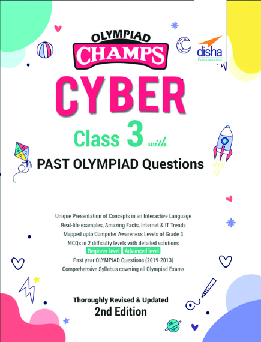 Olympiad Champs Cyber Class 3 With Past Olympiad Questions 2nd Edition - Page 1
