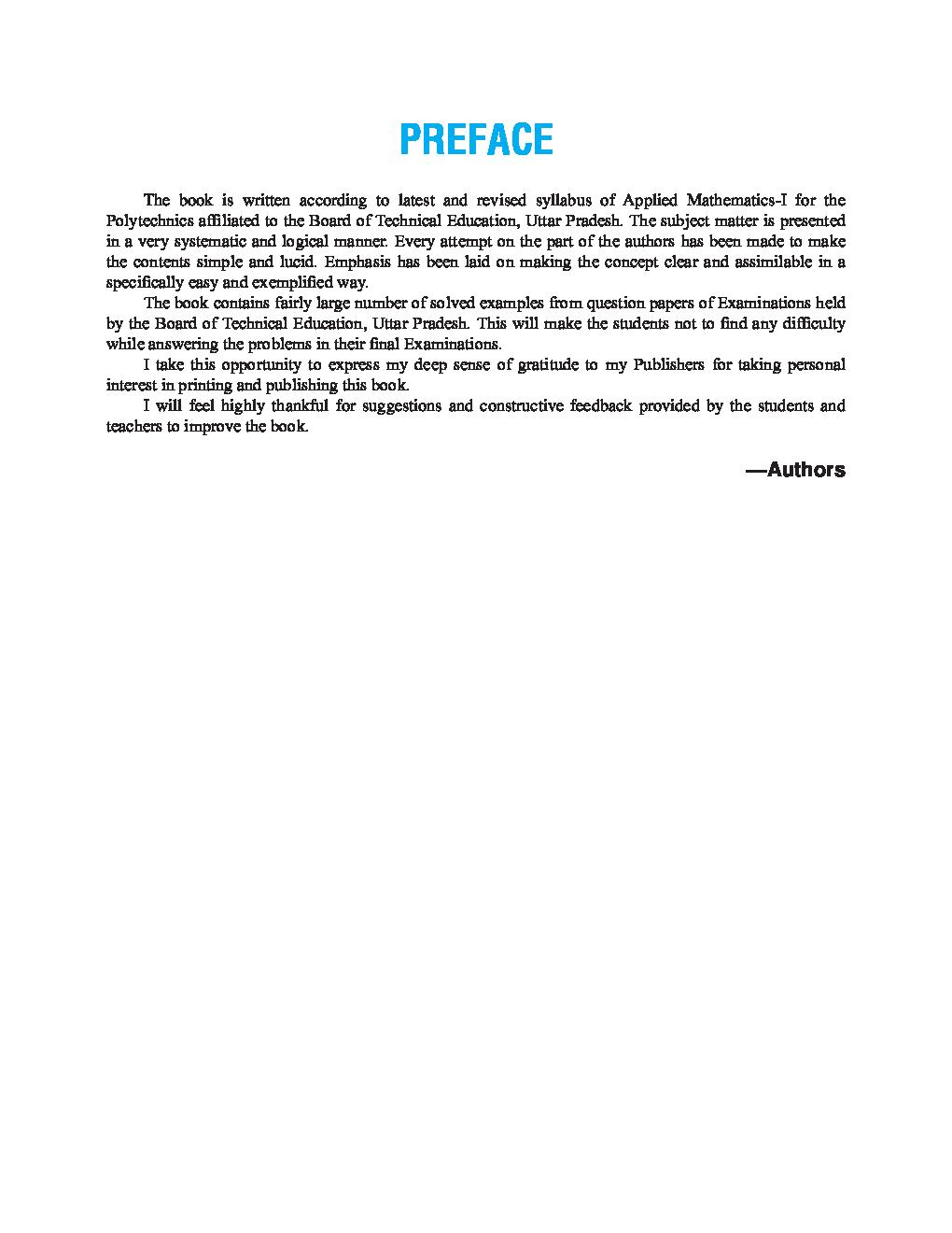 Applied Mathematics-I - Page 4