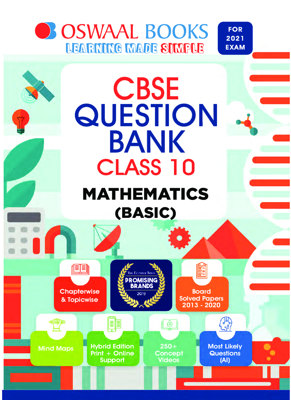 Oswaal CBSE Question Bank For Class - X Mathematics (Basic) (March 2021 Exam) - Page 2
