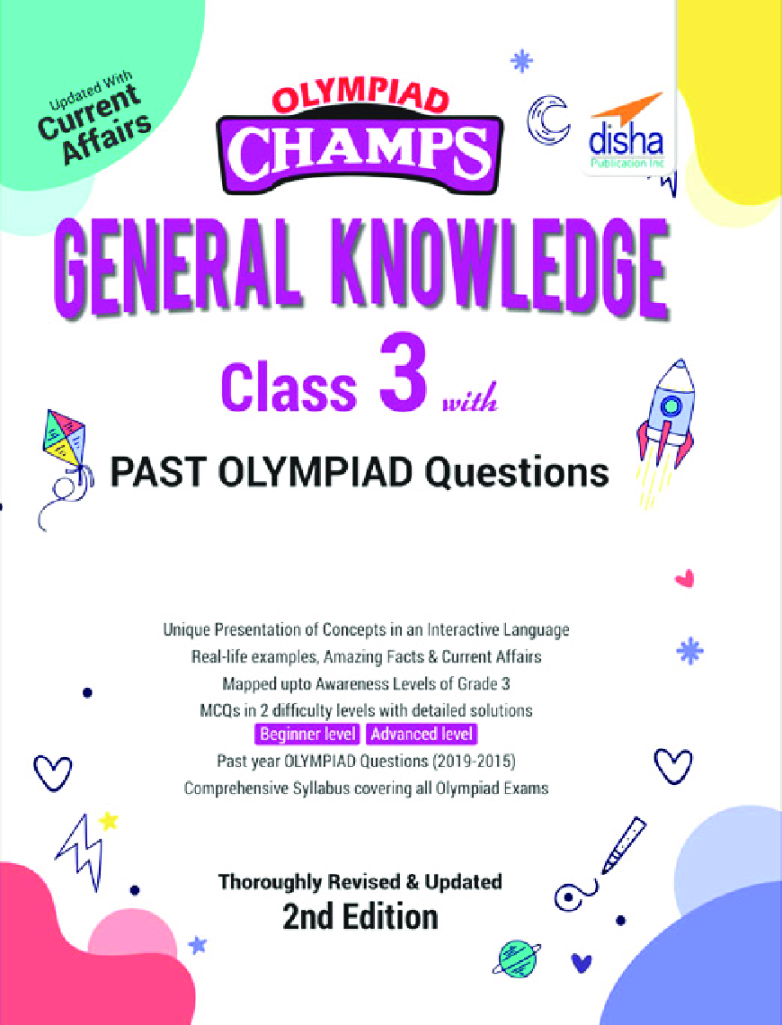 Olympiad Champs General Knowledge Class 3 With Past Olympiad Questions 2nd Edition - Page 1