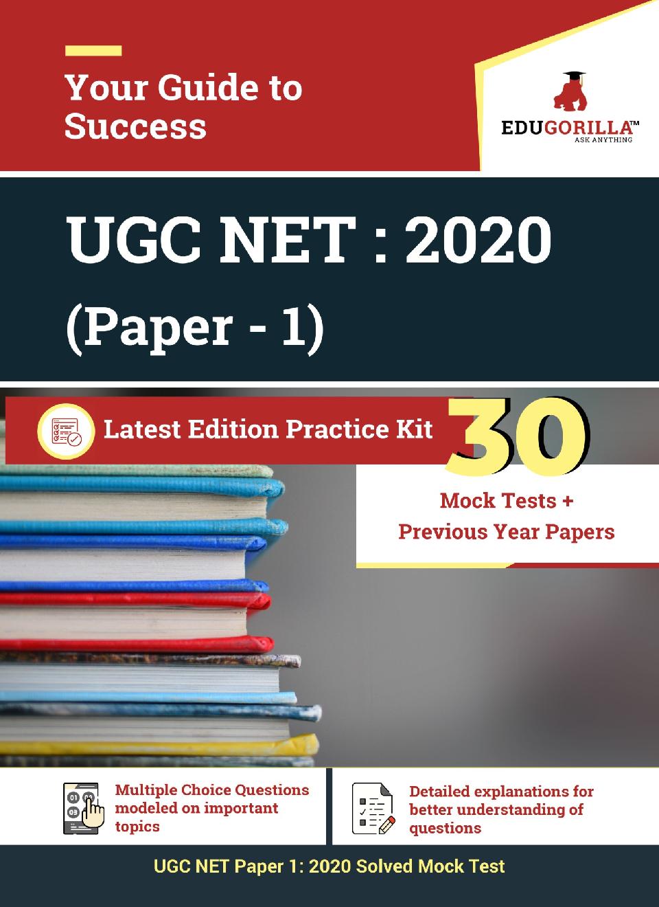 EduGorilla UGC NET : 2020 (Paper - 1) Latest Edition Practice Kit - Page 1
