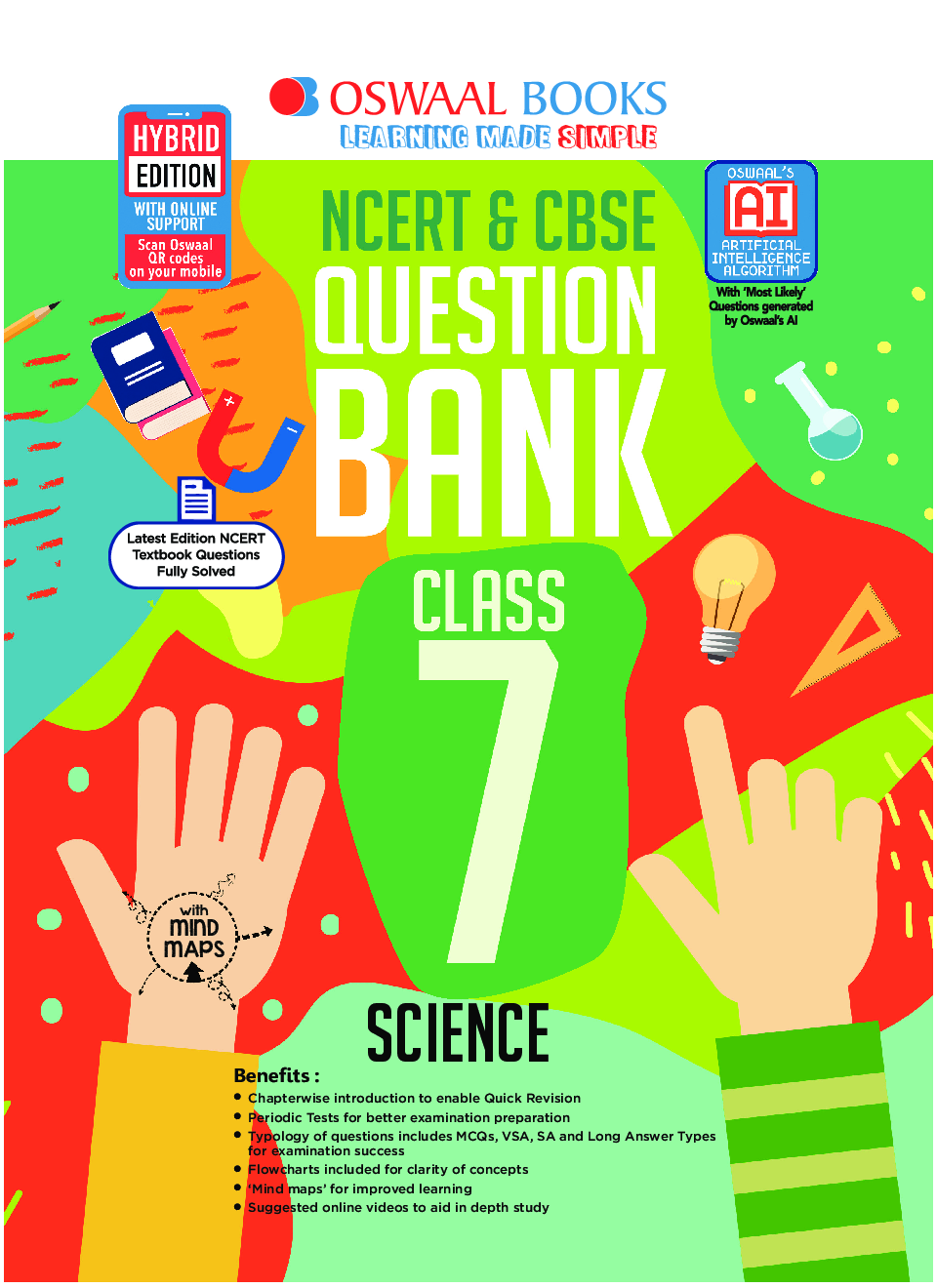 Oswaal NCERT & CBSE Question Bank For Class - VII Science (March 2021 Exam) - Page 1