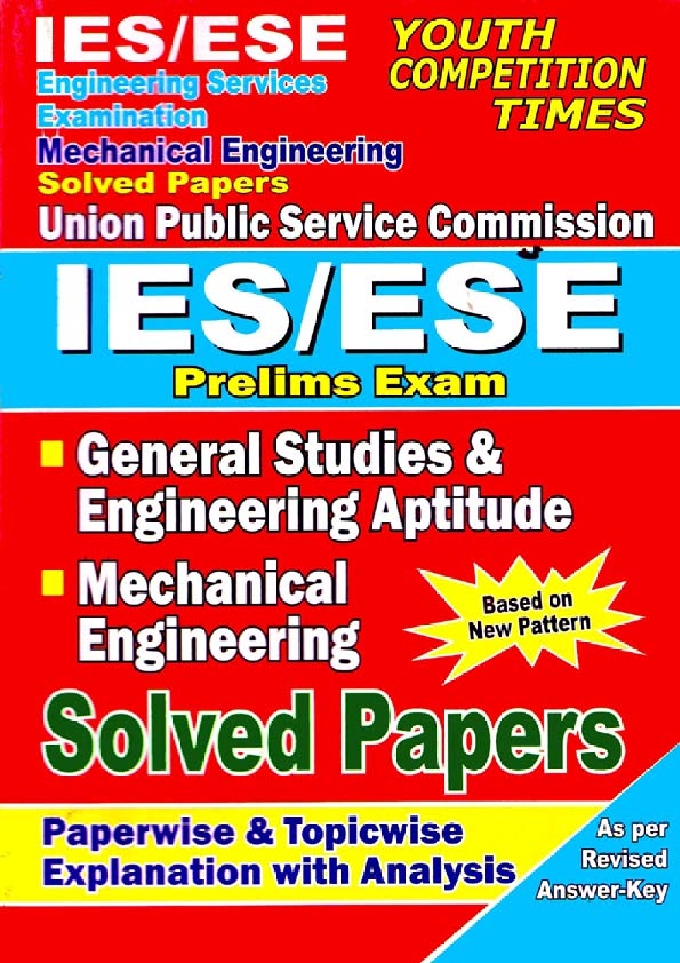 IES/ESE Prelims Exam Mechanical Engineering Solved Papers - Page 1