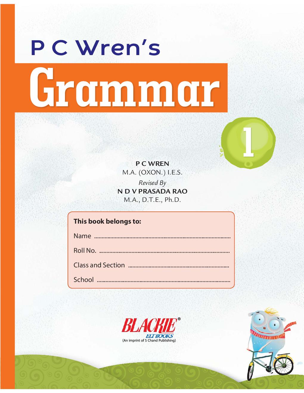 P C Wren's Grammar  1 - Page 2