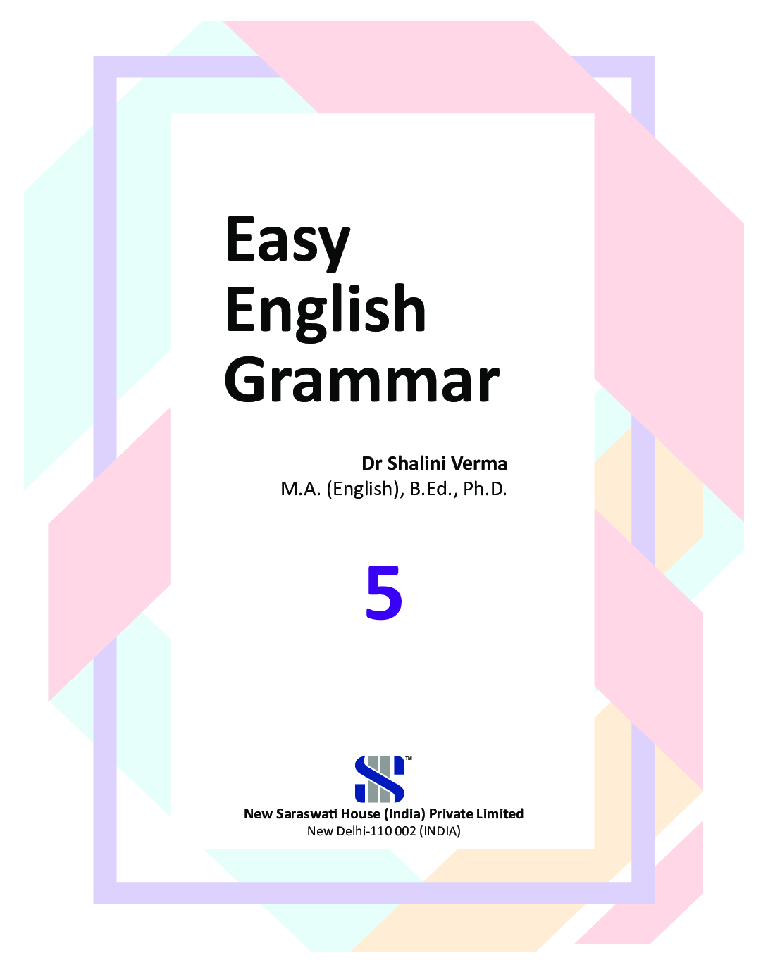 Easy English Grammar For Class - V - Page 2