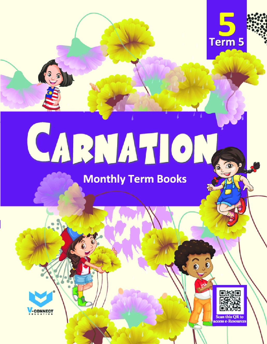Carnation For Class - 5 (Term-5) - Page 1