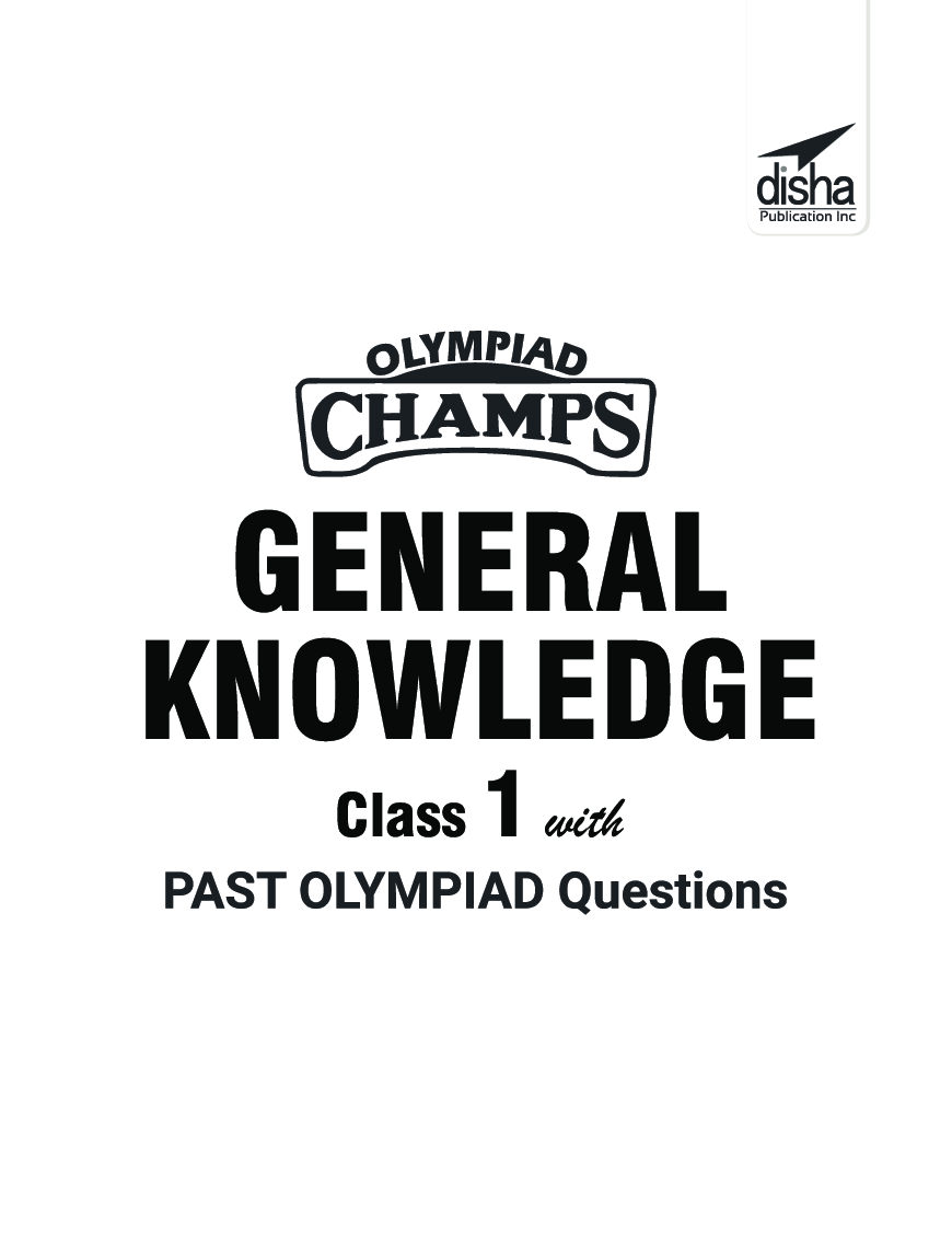 Olympiad Champs General Knowledge Class 1 With Past Olympiad Questions 2nd Edition - Page 2