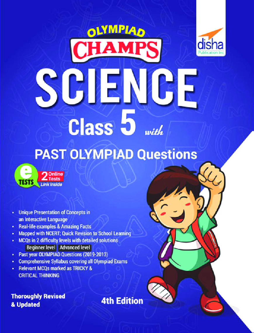 Olympiad Champs Science Class 5 With Past Olympiad Questions 4th Edition - Page 1