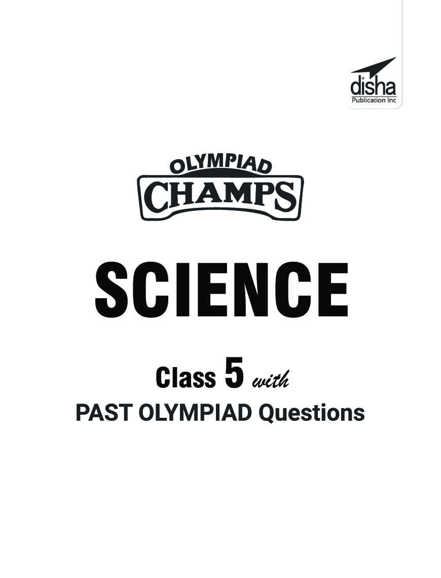 Olympiad Champs Science Class 5 With Past Olympiad Questions 4th Edition - Page 2