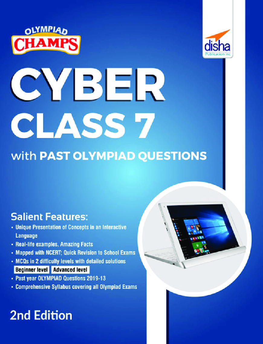 Olympiad Champs Cyber Class 7 With Past Olympiad Questions 2nd Edition - Page 1