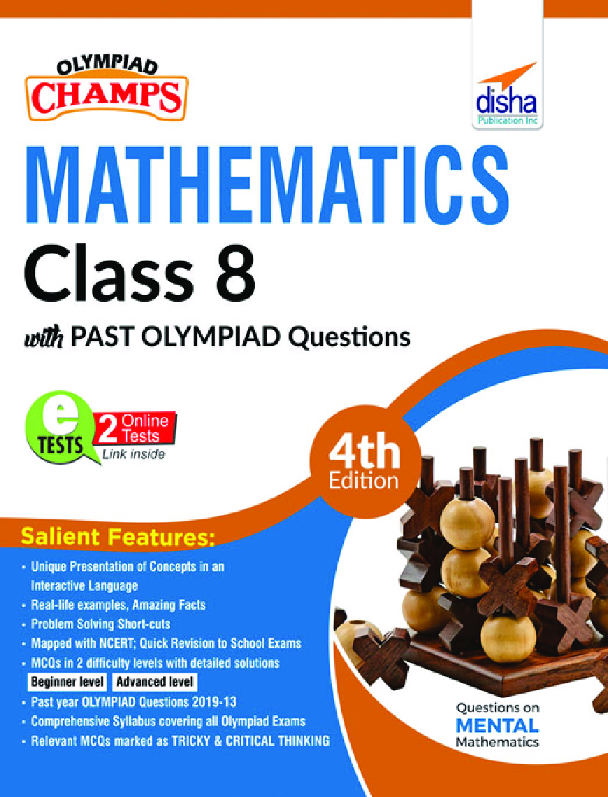 Olympiad Champs Mathematics Class 8 With Past Olympiad Questions 4th Edition - Page 1