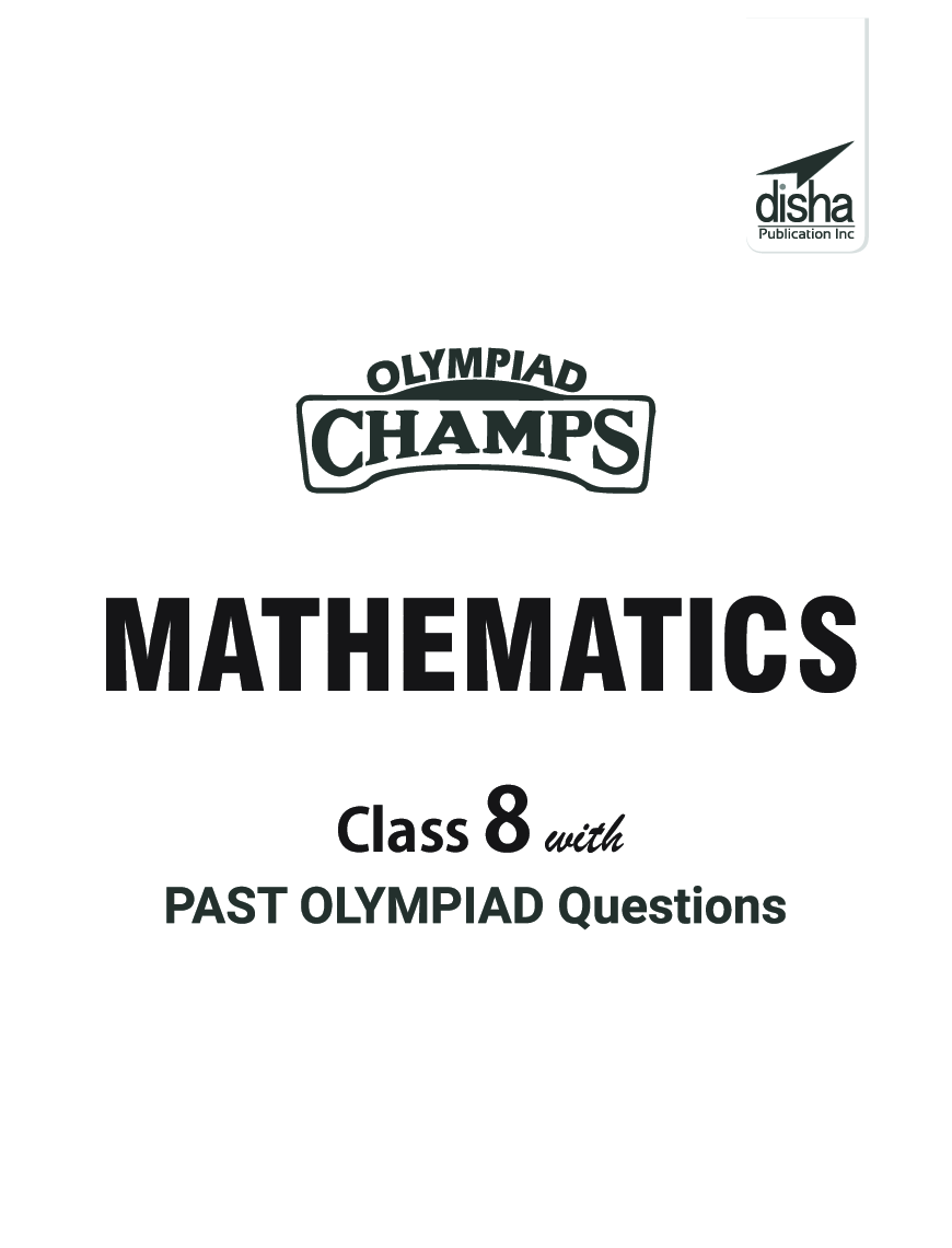 Olympiad Champs Mathematics Class 8 With Past Olympiad Questions 4th Edition - Page 2