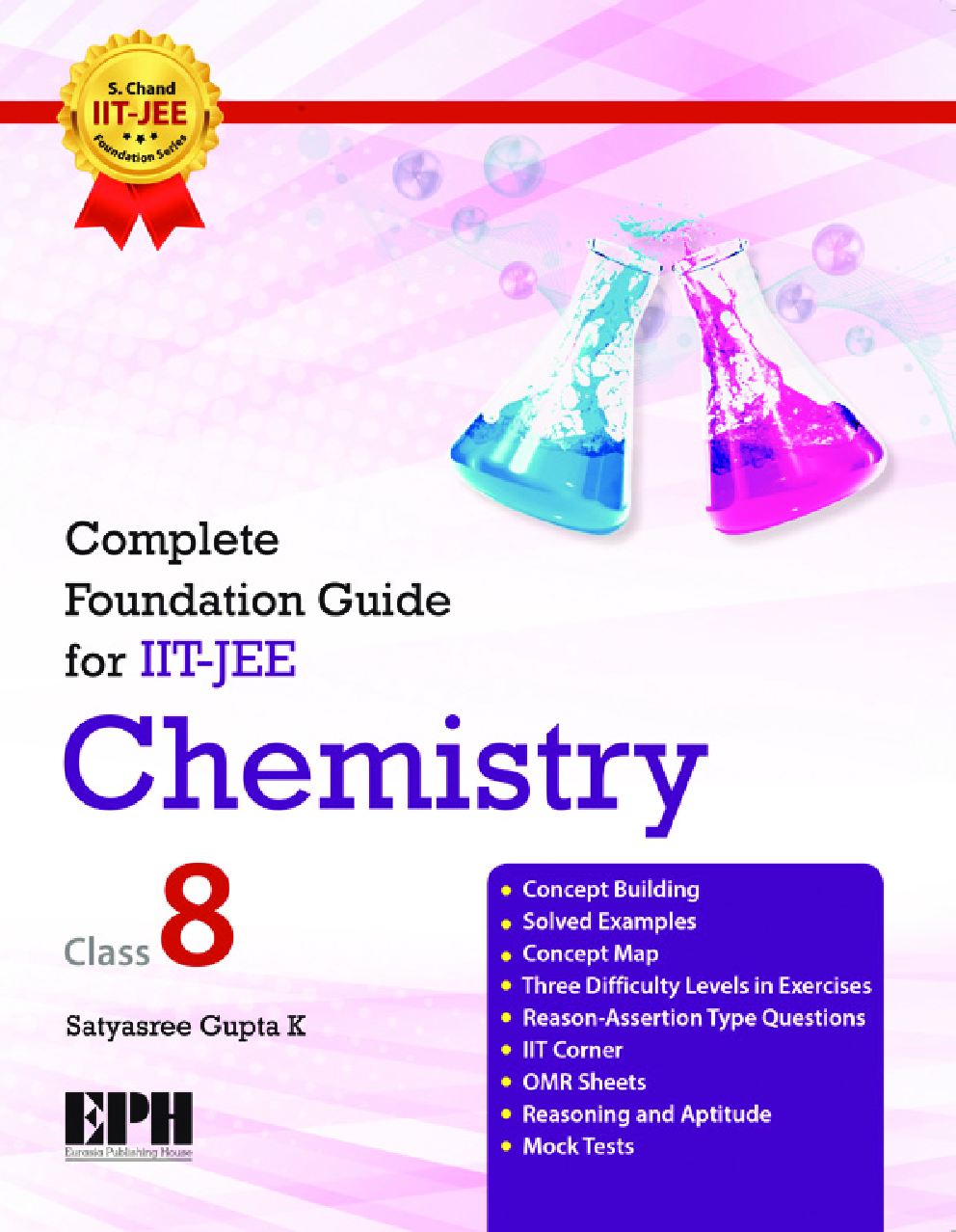 Complete Foundation Guide For IIT Jee, Chemistry Class 8 - Page 1