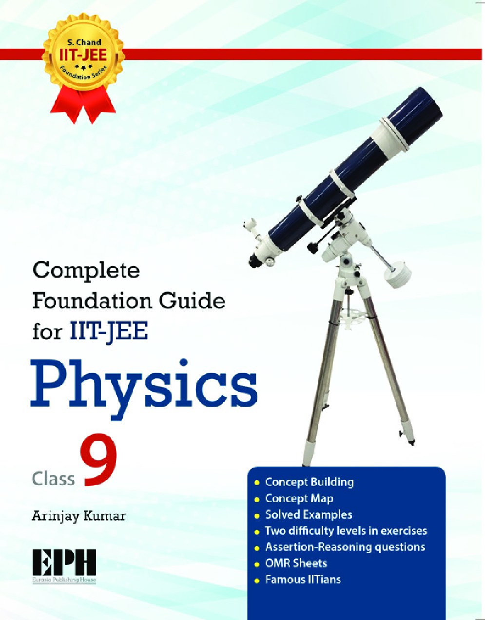 Complete Foundation Guide For IIT Jee Physics For Class IX - Page 1