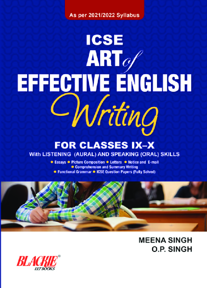 ICSE Art of Effective English Writing for Classes IX-X (2021 Edition) - Page 1