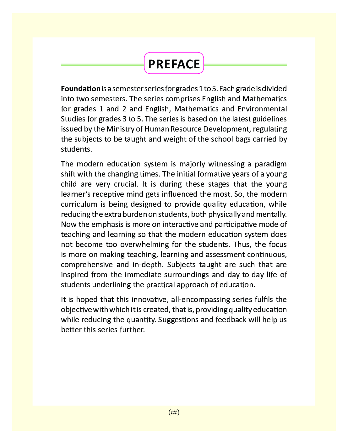 Foundation - A Semester Series For Class - II - Page 4