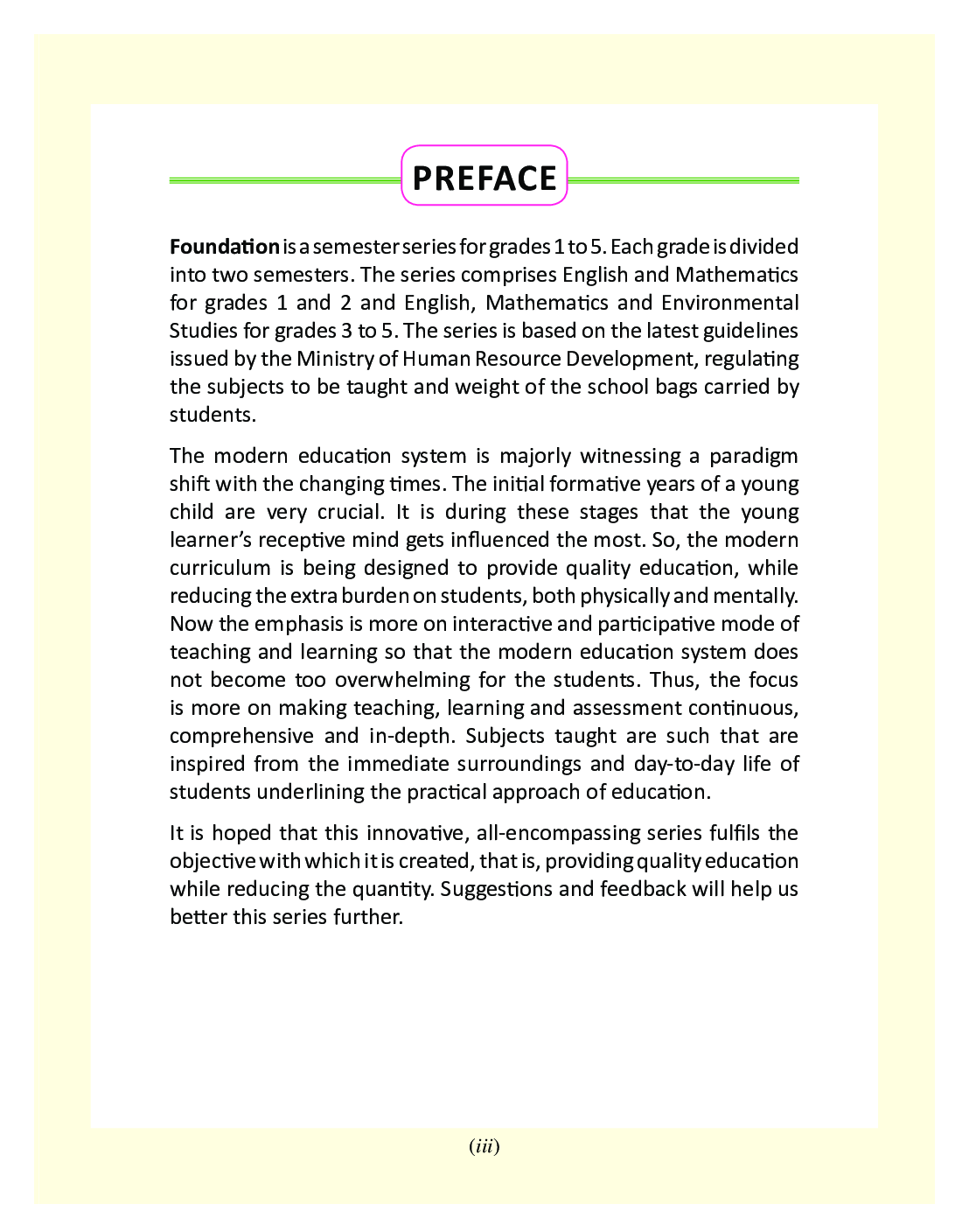 Foundation - A Semester Series For Class - IV - Page 4