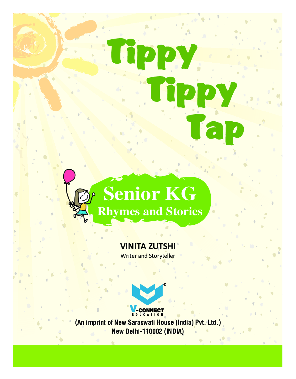 Tippy Tippy Tap For Senior KG (Rhymes & Stories) - Page 2