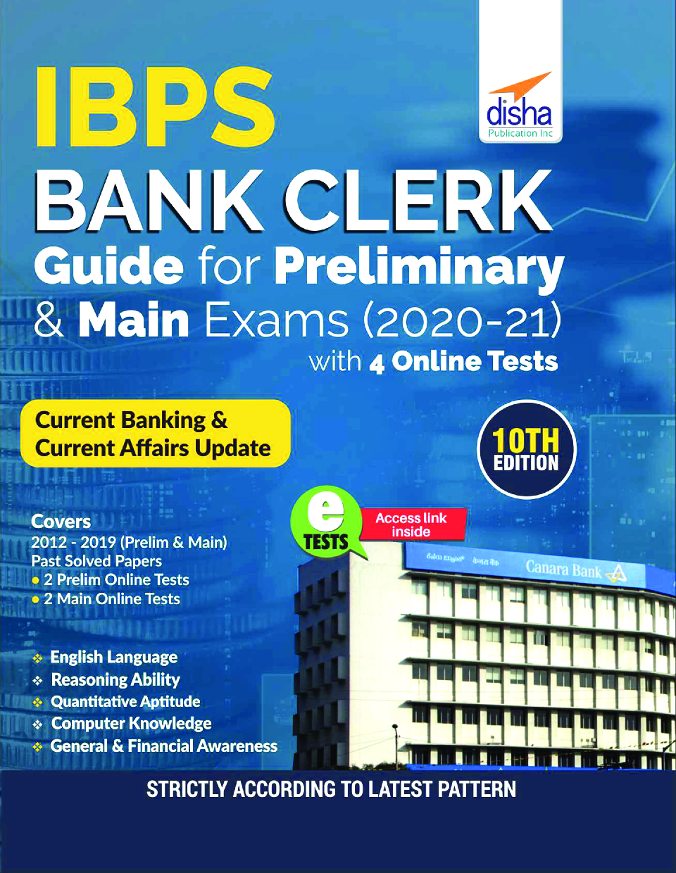 IBPS Bank Clerk Guide For Preliminary & Main Exams 2020-21 With 4 Online Tests (10th Edition) - Page 1