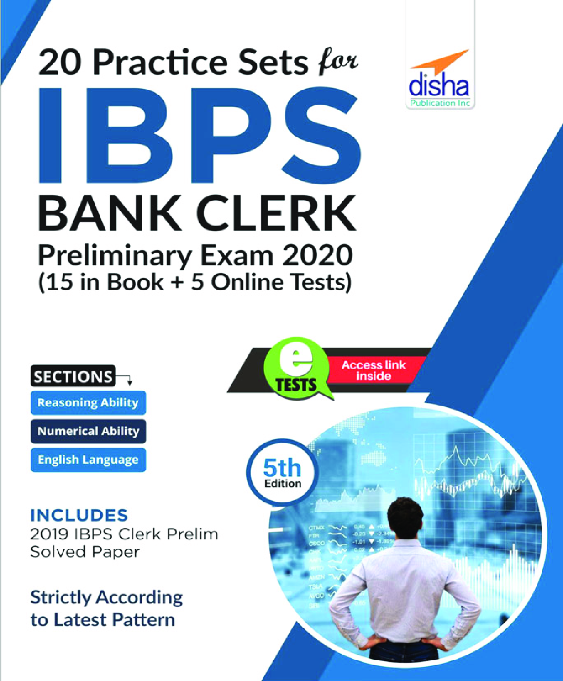 20 Practice Sets For IBPS Bank Clerk Preliminary Exam 2020 - 15 In Book + 5 Online Tests 5th Edition - Page 1