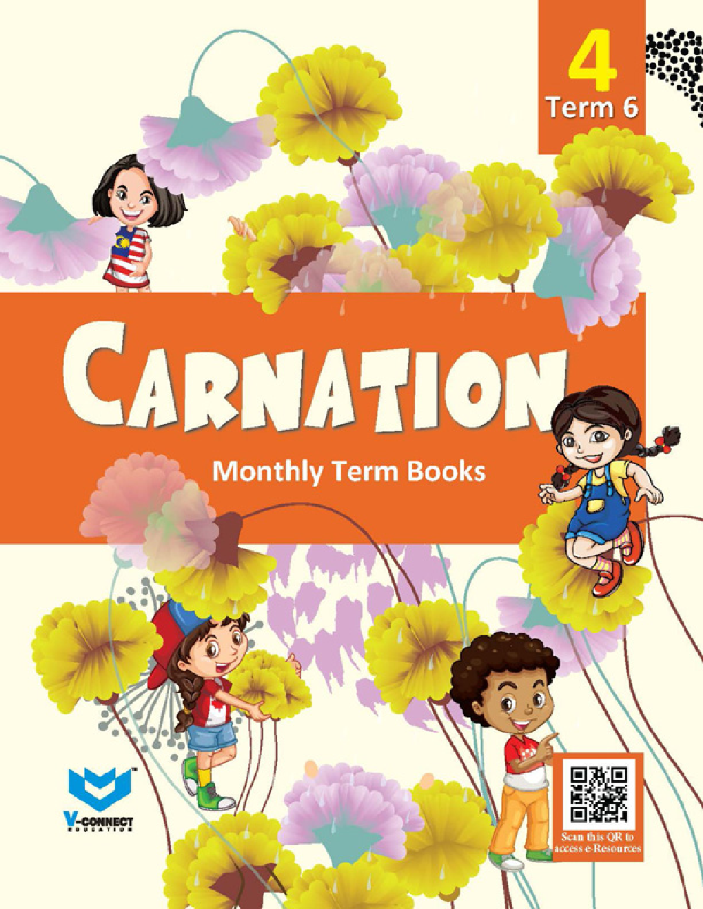 Carnation Monthly Term Book Class-4 Term-6 - Page 1