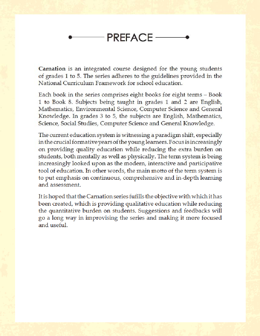 Carnation Monthly Term Book Class-4 Term-6 - Page 4