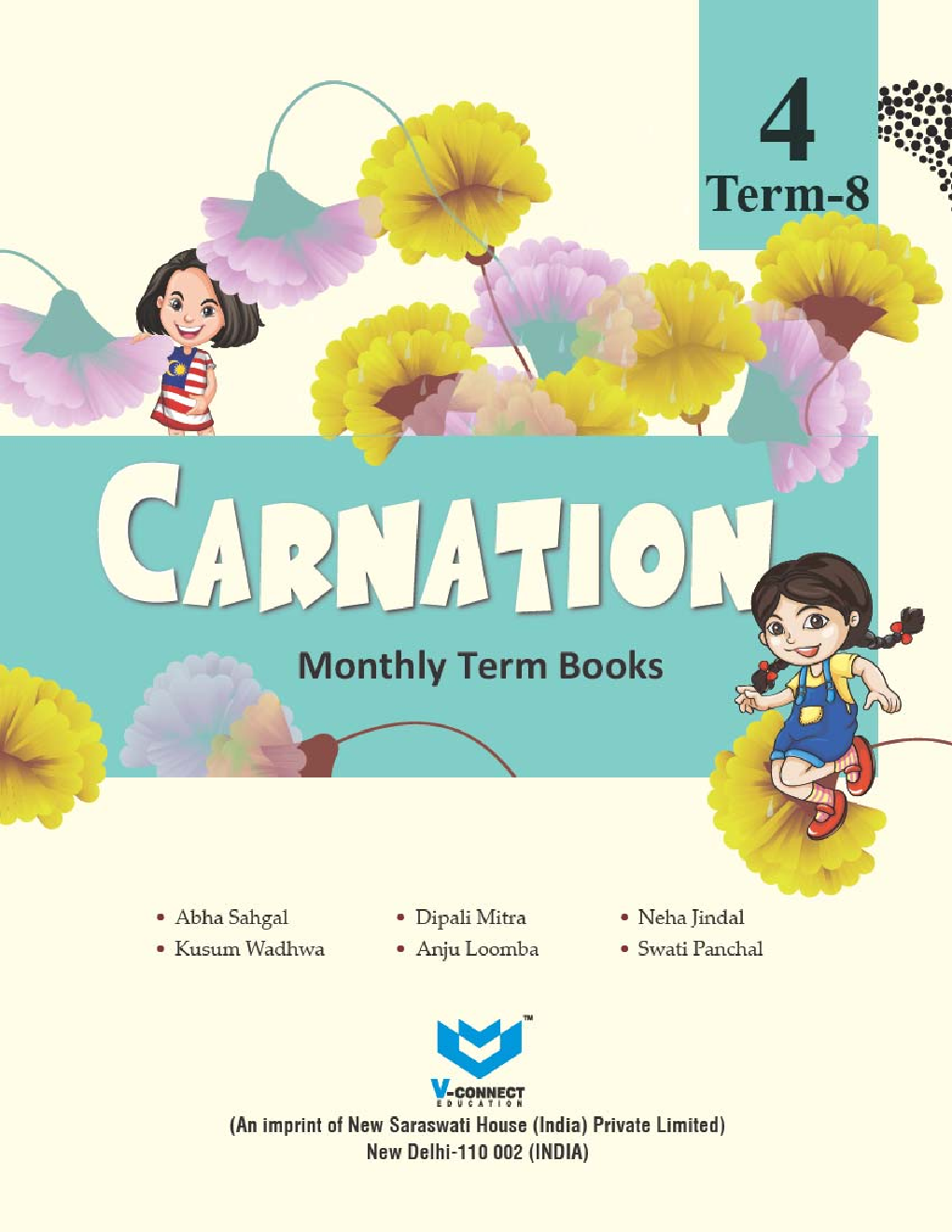 Carnation Monthly Term Book Class-4 Term-8 - Page 2