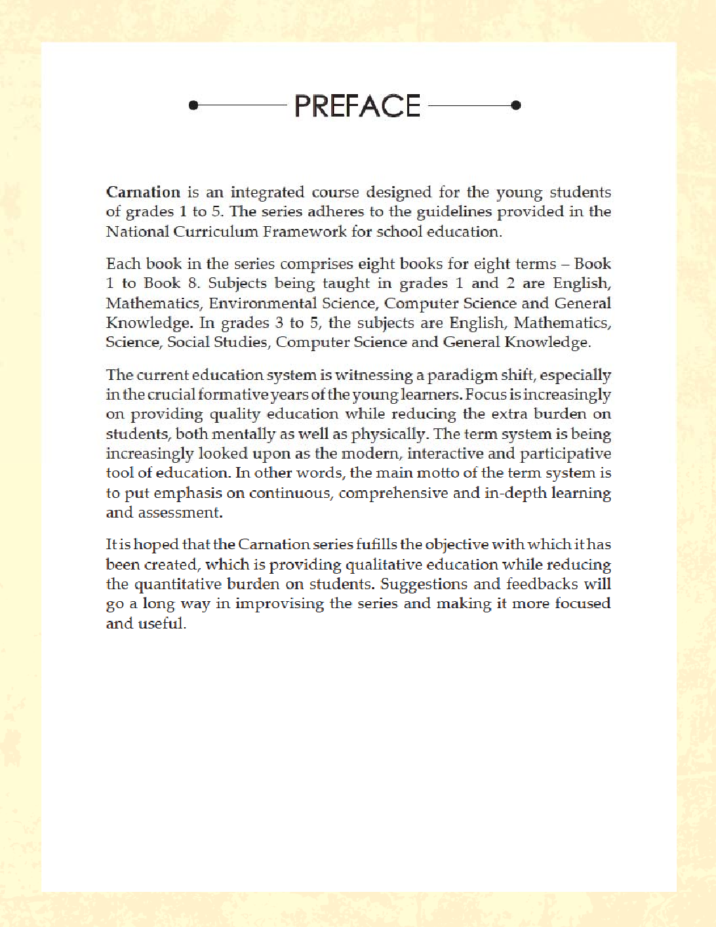 Carnation Monthly Term Book Class-4 Term-8 - Page 4
