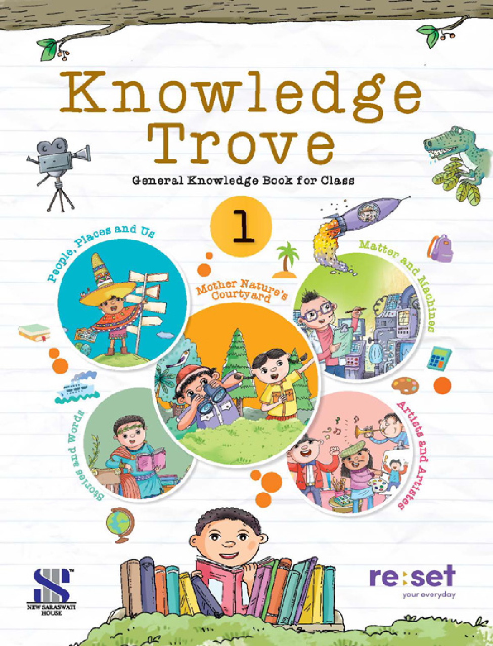 Knowledge Trove General Knowledge Book For Class-1 - Page 1