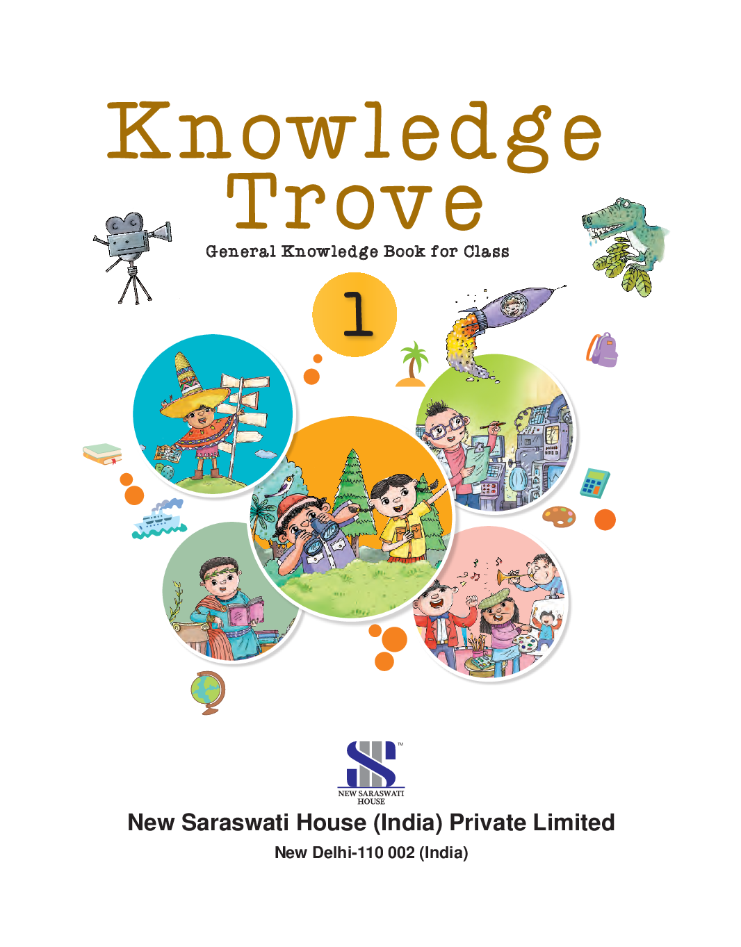 Knowledge Trove General Knowledge Book For Class-1 - Page 2
