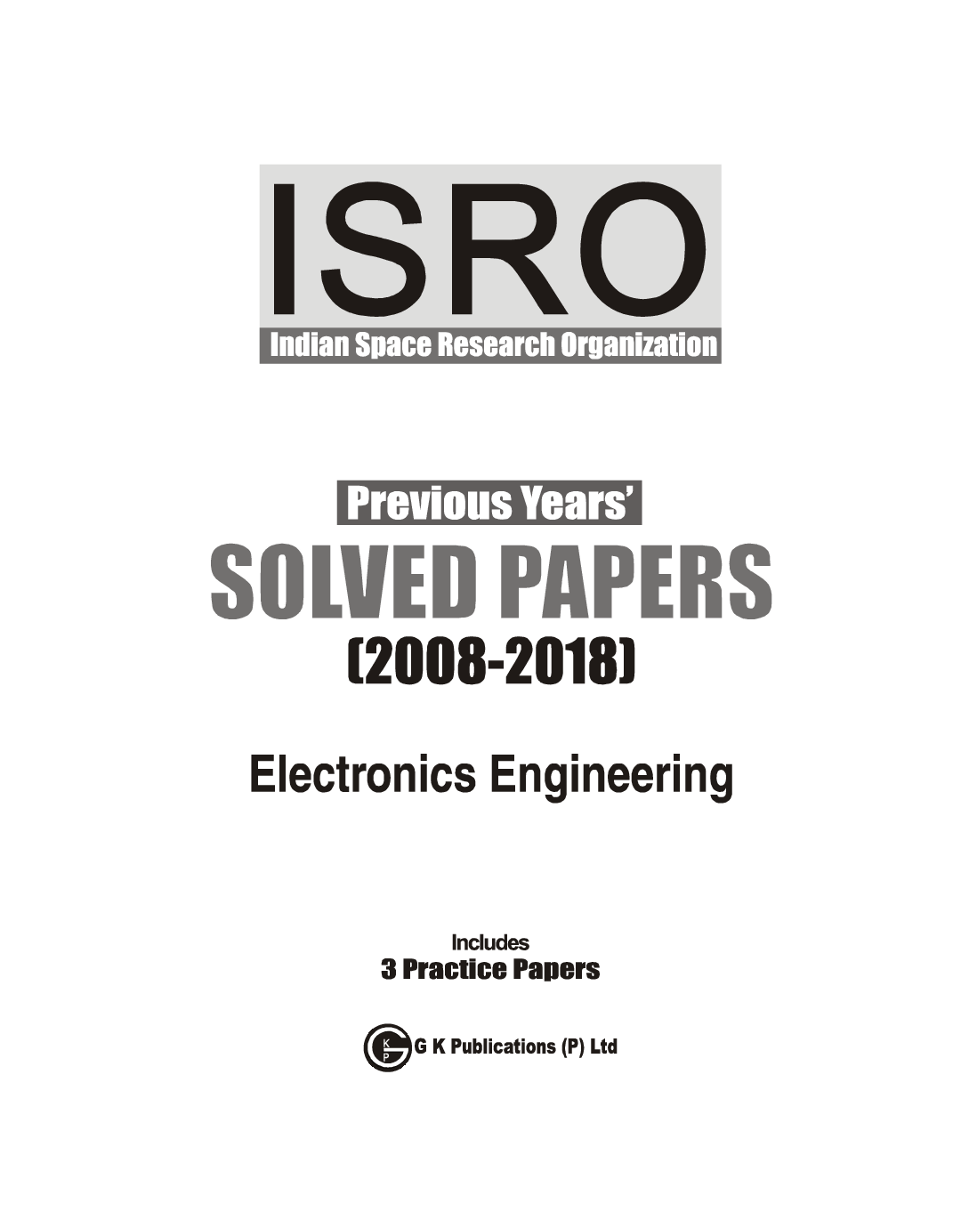 ISRO Electronics Engineering - Previous Years Solved Papers (2008-2018) 2019 - Page 2